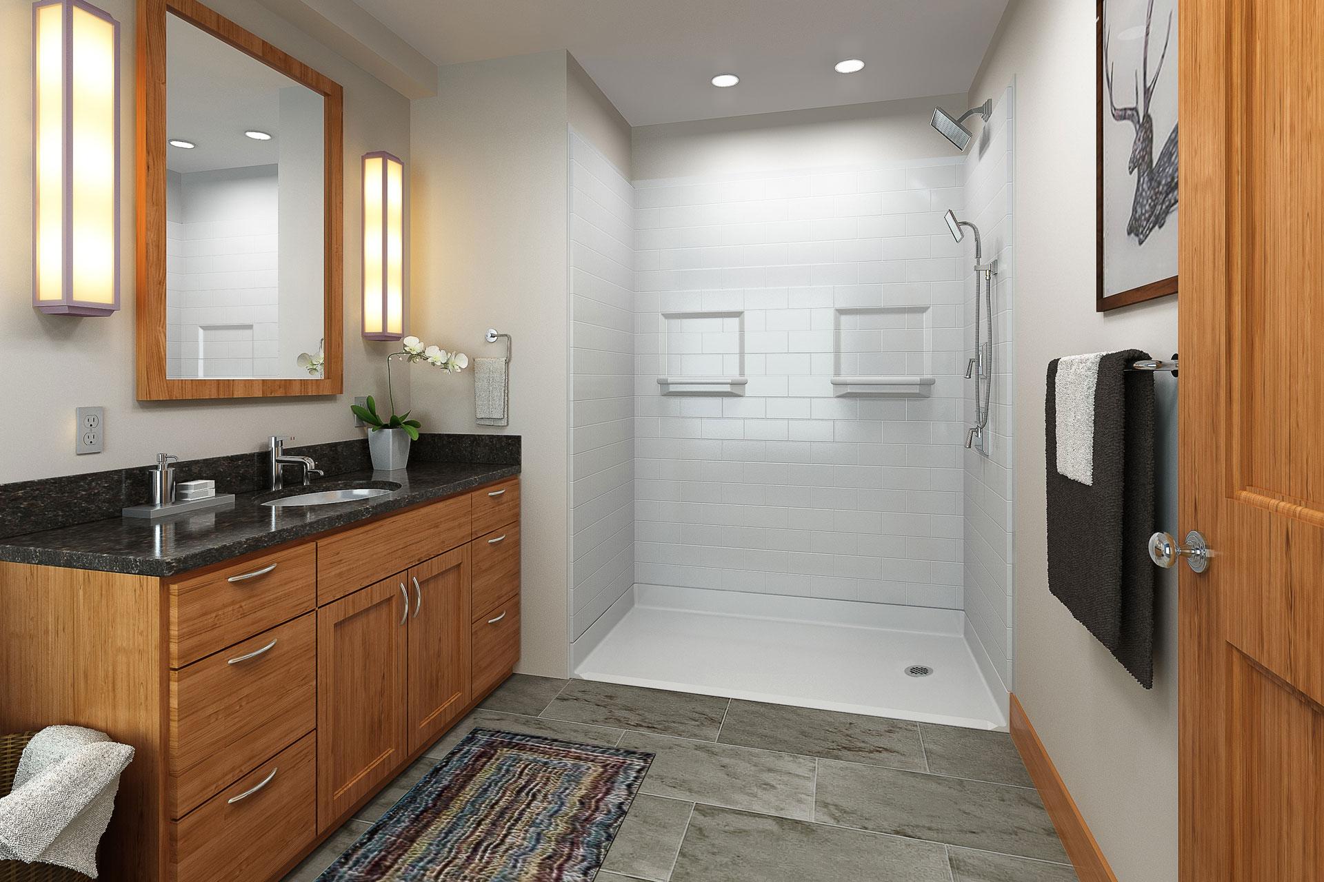 Barrier Free Shower Installations