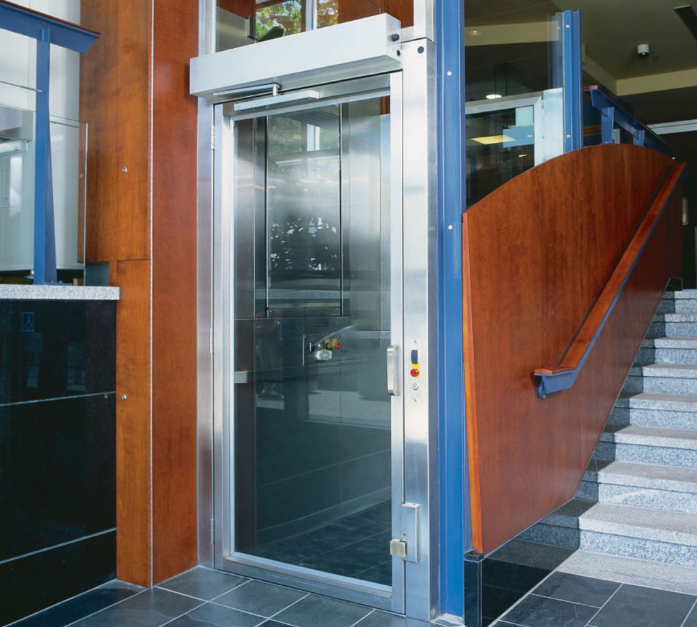 Ct wheelchair platform lifts handicap accessible lifts for Wheelchair accessible house plans with elevator