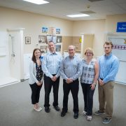 Staff in front of bestbath showers