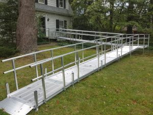 ramp for wheelchair access - new - adapting to change